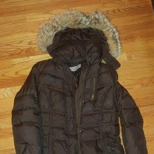 Marc New York Down Jacket fur hood